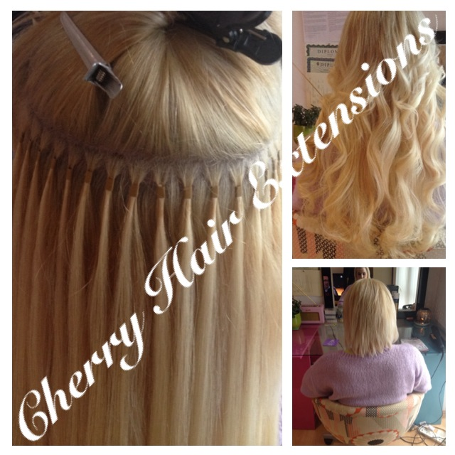 Application Methods Cherry Hair Extensions Human Hair Extensions