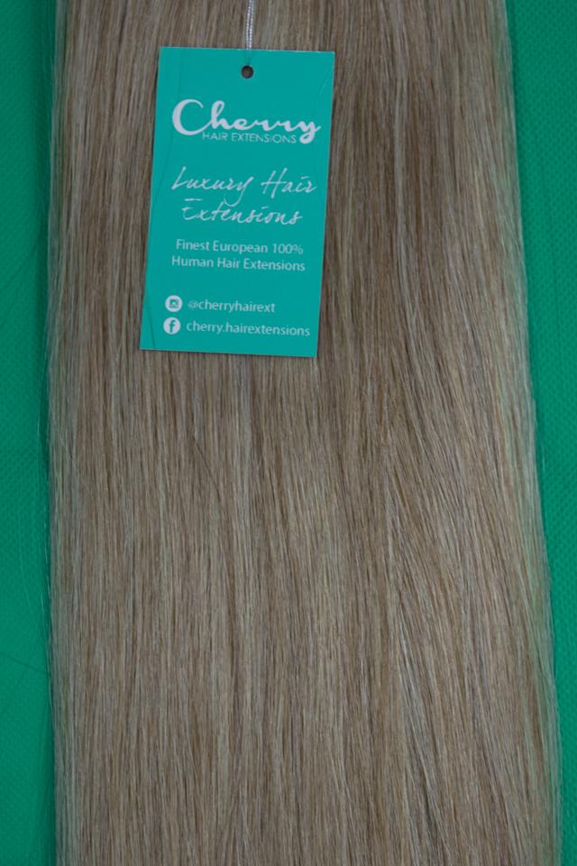 Shade 822 Mix Dark Blonde European Hair Extensions Cherry