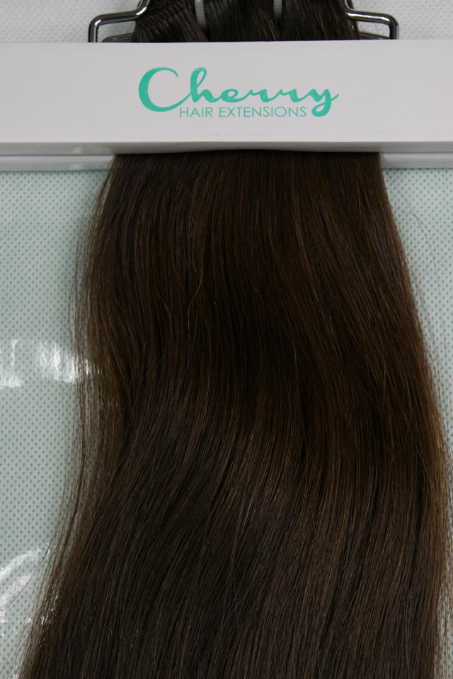 Shade 2 Darkest Brown Vietnamese Hair Extensions Cherry Hair